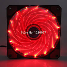 Red Pc Case Lighting Us 112 99 20pieces Lot Pc Computer Case 12025s 12cm 120mm 120x25mm Dc 12v Red Led 3pin 4pin Cooling Motor Fan In Fans Cooling From Computer