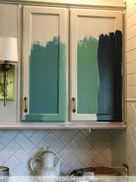 Teal Kitchen Teal Kitchen Cabinet Sneak Peek Plus A Few Cabinet Painting Tips