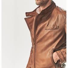 genuine leather jacket brand new men massimo dutti brown men s fashion clothes on carou