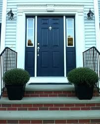 blue front doorImage Navy Blue Front Door Ideas Farrow Ball Green Paint House