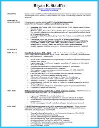 Information Technology Resume Template Senior Network Security