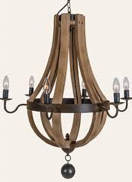 wine barrel light fixtures