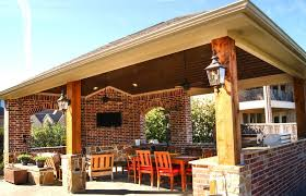 free standing patio covers. Freestanding Cover And Outdoor Kitchen In The Woodlands Free Standing Patio Covers