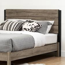 south shore headboard. Simple South South Shore Munich Weathered Oak 5460 Inch Full And Queen Headboard To T