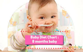 8 months baby food chart for indian