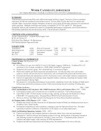 Pleasant Pilot Resume format Examples On Pilot Resume Examples