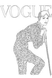 Image Result For Fashion Coloring Book