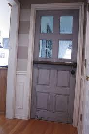 Diy Exterior Dutch Door Making A Dutch Door From An Old Door