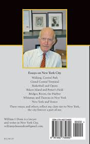 my new york a life in the city william j dean  my new york a life in the city william j dean 9781482734690 com books