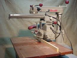 delta radial arm saw. comments: right side of delta 900. source: leo schu radial arm saw