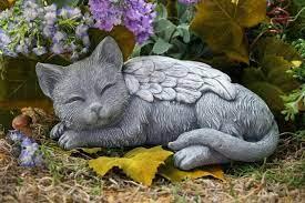 cat memorial garden angel cat
