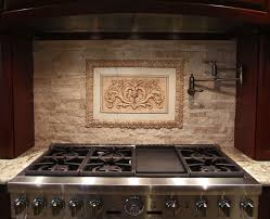 Decorative Tile Strips Hand Crafted Backsplash Insert Floral Tile With Flat Strips And 47