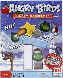 Mattel Angry Birds Happy Holidays! Game - Christmas Themed Board Game:  Amazon.ca: Electronics