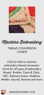 Thread Conversion Charts Needlepointers Com