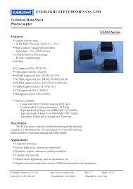 Ever Light Co Ltd El816