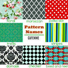 Different Types Of Patterns Unique 48 Pattern Names Cafemme