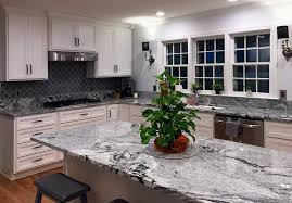 kitchen Countertops White Particle Board Kitchen Cabinets Blue