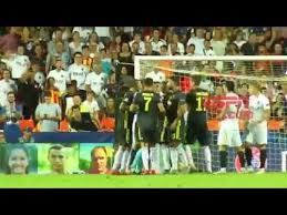 Cristiano Ronaldo Expulsado - Valencia vs Juventus - YouTube