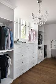 walk in closet with built in jewelry drawers