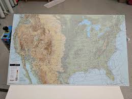 Vfr Map Of The Us I Made This For Myself Its About 3x6
