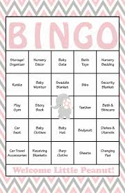 Girlu0027s Baby Shower Bingo GameBaby Shower Bingo Cards Printable