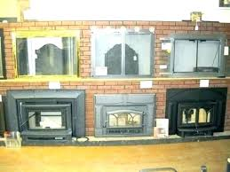 gas fireplace glass door installation insert doors replace buck