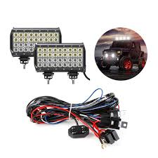 108w cree off road led work light bars wiring harness kit le® bundle 108w cree off road led work light bars wiring harness kit