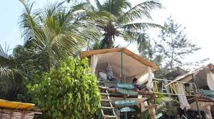 Anjuna 2 Beach House Tantra Shack Huts Anjuna Beach Goa India 2014 Hd 1080