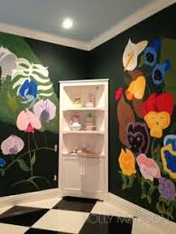 Alice In Wonderland Room. Can We Just A Moment To Appreciate The Effort And  Talent