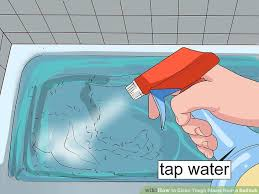 image titled clean tough stains from a bathtub step 14