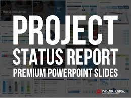 Powerpoint Create Slide Template Project Status Report Ppt Slide Template
