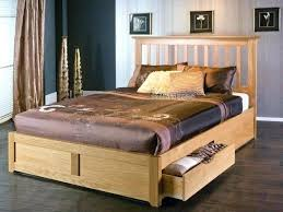 ottoman wooden bed frame medium size of solid wood storage bed frame king size oak ottoman