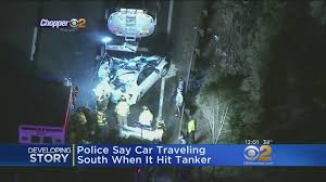 4 killed when car rear ends oil tanker on new jersey highway las vegas review journal