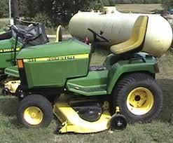 lawn mower garden tractor info john deere 445 garden tractor