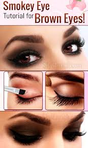 eye makeup tutorial for brown eyes eyes makeup tutorials guide tutorial thursday simple and wearable brown smokey eye makeup smokey eye makeup