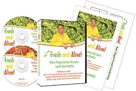 Amazon Com Fresh And Alive Raw Vegetarian Recipes With Ken
