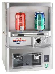 Koolatron Mini Vending Machine Inspiration Koolatron CoinOp Fridge Keeps Can Moochers Out Technabob