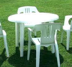 plastic garden tables white round plastic table round plastic tables and chairs full size of home
