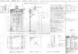 Tardis Design Plans Bbc Blueprints Jane Street Clayworks