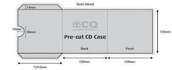 Cd Paper Case Cd Case Template Barca Fontanacountryinn Com
