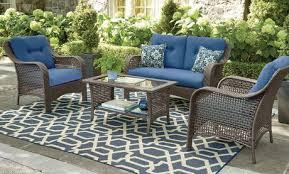 home trends outdoor furniture. Fine Trends Hometrends Tuscany 4Piece Conversation Set  Walmart Canada Inside Home Trends Outdoor Furniture P