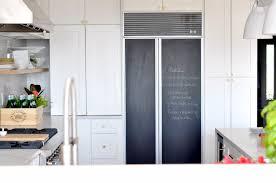 subzero chalkboard fridge