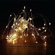 led string light led string lights outdoor fairy lights warm white silver wire led starry lights led string