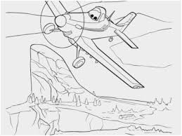 Dusty Crophopper Coloring Pages Amazing Disney Planes Dusty