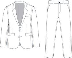 Men Suits And Tuxedos Size Fit Guides