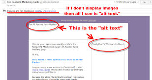 What the Heck is Alt Text and Why Should I Care? - Kivi's Nonprofit ...