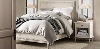 restoration hardware bedroom. Maison Panel Collection Restoration Hardware Bedroom