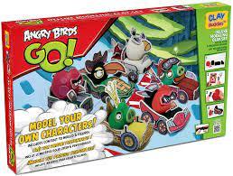 Clay Buddies™ – 330587 – Freizeit Kreative – Super Pack Angry Birds Go.:  Amazon.de: Spielzeug
