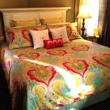 jaipur comforter set in yellow teal echo photo 3 of 8 attractive design bedding collection paisley pebble sateen