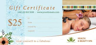 massage therapy gift certificate massage certificate template how spa gift certificate template fill in